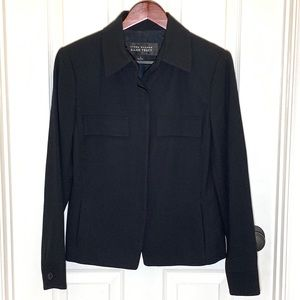 Ellen Tracy Navy Blue Suit Jacket Size 4